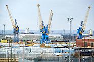 Hull Docks & P&O Ferries