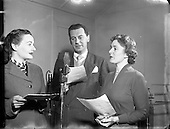 1954  Recording of New Sponsored Programme 'Stork Magazine'