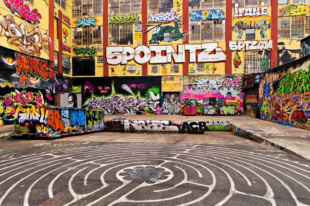 "5 Pointz, world's premiere ""graffiti place, Long Island City,  Queens, New York City, New York, USA"