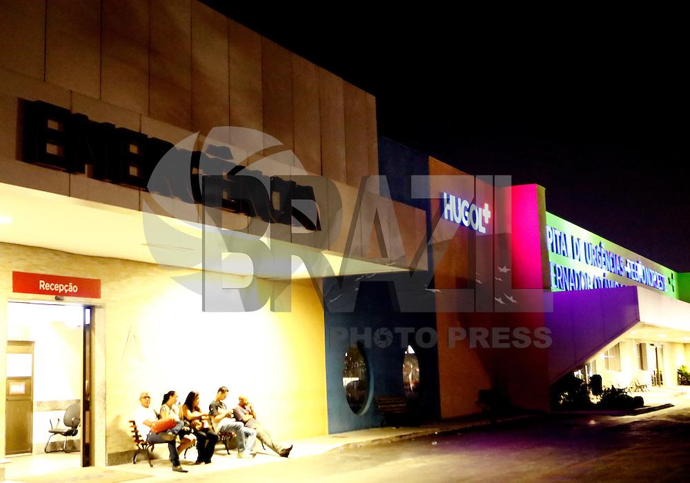 GOIANIA, GO, 28.09.2016 - CRIME-GO - Vice governador de Goiás José Eliton chega ao Hospital de Urgências Doutor Otávio Lage de Siqueira(HUGOL) em Goiania na noite desta quarta-feira, 28. O vice-governador de Goiás, José Eliton (PSDB), de 44 anos, foi baleado durante uma carreata no município em Itumbiara, região sul de Goiás. Um atirador atingiu quatro pessoas e foi morto por seguranças do governo. Morreram no atentado o candidato à prefeitura de Itumbiara José Gomes da Rocha (PTB), de 58 anos, conhecido como Zé Gomes, e o cabo da PM Vanilson João Pereira, de 36 anos. (Foto: Marcos Souza / Brazil Photo Press)