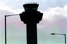 FEB 8 2000 THE CONTROL TOWER AT STANSTED AIRPORT