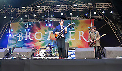 Brother play the main stage at Rockness 2011..Pic ©2011 Michael Schofield. All Rights Reserved..