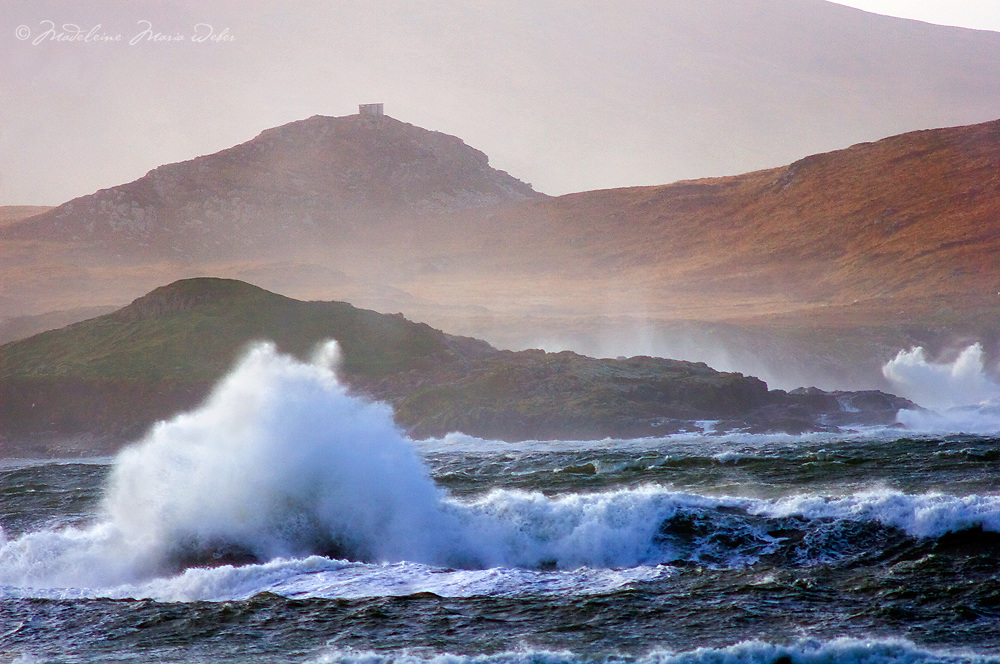 Stormy Sea st Begenish Island, Ireland / ws040