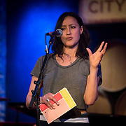 Maria Venegas at the 'Still Waters in a Storm' benefit at The City Winery NYC. <br /> <br /> Still Waters in a Storm is a free school for children in the neighborhood of Bushwick, Brooklyn.Volunteers offer homework help and classes in reading, writing, violin, music composition, yoga and Latin, all free of charge to low-income families in the neighborhood.