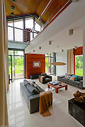Modern Swidermajer style home near Warsaw Poland , interior photography by Piotr Gesicki