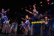 Dancers from the group Art of Dance perform at the New York Dance Alliance's national competition finale July 10, 2005 in New York City.<br />