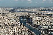 11 Seine river aerial view