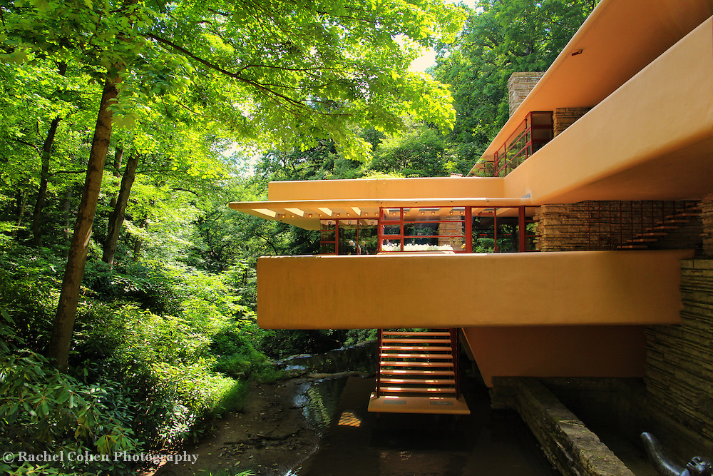 &quot;View of Fallingwater&quot;<br />