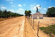 Dirt road near Jesus Menendez, Las Tunas, Cuba.