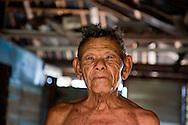 Old man in Yumuri, Baracoa, Guantanamo Province, Cuba.