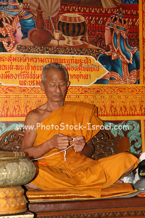 Thailand, Temple monk