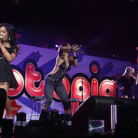 Danity Kane performing at The Izod Center in E. Rutherford New Jersey on May 17, 2008 during Z100 Zootopia 2008.