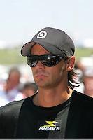 Darren Manning at the Kansas Speedway, Kansas Indy 300, July 3, 2005