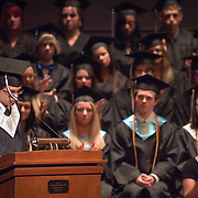 060311 Wilmington DE: Cab Calloway Co-Salutatorian Jacob A. Sackett-Sanders address his fellow students during commencement exercise Friday, June 3, 2011 at The Grand Opera House In Wilmington Delaware...Special to The News Journal/SAQUAN STIMPSON