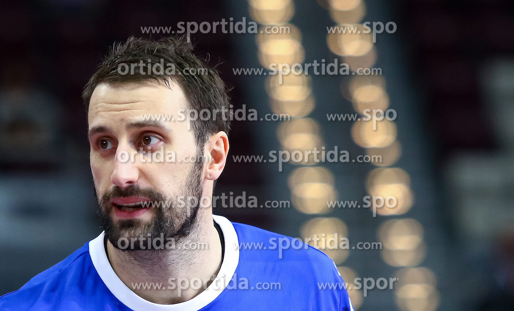31.01.2015, Lusail Multipurpose Hall, Lusail, QAT, IHF, Handball Weltmeisterschaft der Herren, Spiel um Platz 5, Dänemark vs Kroatien, im Bild Igor Vori (CRO) // during the IHF Handball World Championship match for the fifth place between Denmark and Croatia at the Lusail Multipurpose Hall, Lusail, Qatar on 2015/01/31. EXPA Pictures © 2015, PhotoCredit: EXPA/ Sebastian Pucher