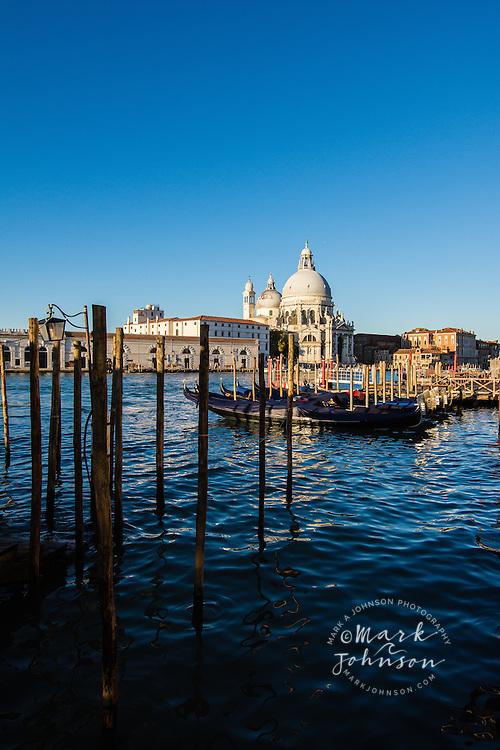 Grand Canal & the Basilica di Santa Maria della Salute, Venice, Italy, Europe