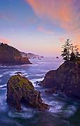 Oregon coast south of Natural Bridges Viewpoint, Samuel H. Boardman State Park.