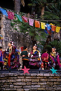 Image of the Ballet Folklorico Festival on the Riverwalk in San Antonio, Texas, American Southwest