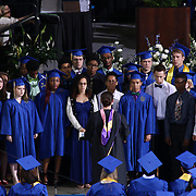 "Alexis I. duPont High School Chorus preforms ""Shenandoah"" during duPont High School commencement exercise Saturday, June 06, 2015, at The Bob Carpenter Sports Convocation Center in Newark, Delaware."