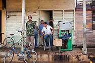 Ice cream stand in Baracoa, Guantanamo, Cuba.