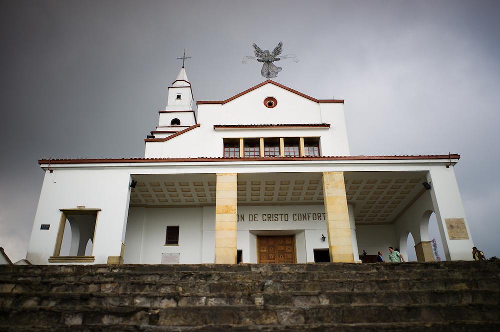 Church on Monserrate near Bogotá, Colombia.