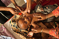 KNewborn baby being cared for at the Kumudini Welfare Trust in Bangladesh. The Trust runs a Nursing school that graduates about 100 students annually.