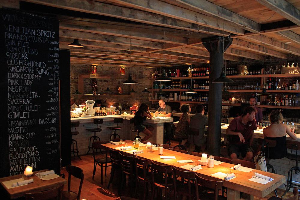 Aria. West Village, Manhattan