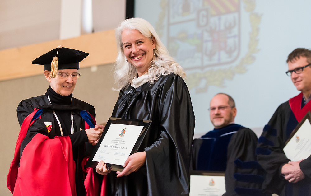Honors students and faculty convened for the  Academic Honors Convocation. Photo by Edward Bell.