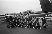 1968 Hurling League from Antigen LTD leave Dublin Airport