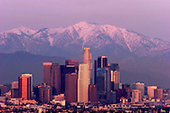 Downtown Los Angeles Skyline, Southern California
