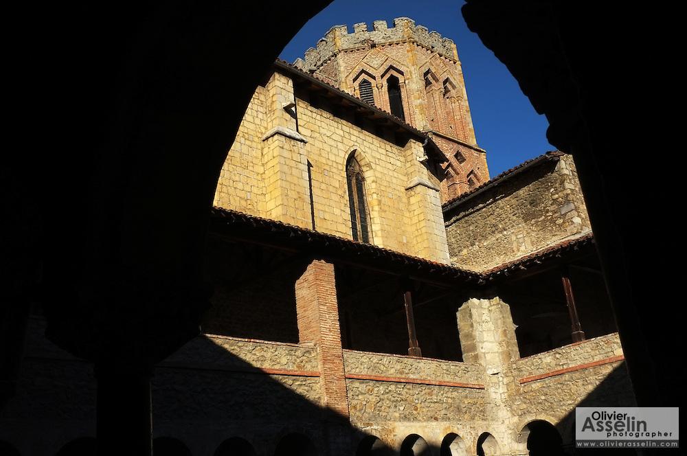 Church of Saint-Lizier, Pays Couserans, Ariege, Pyrenees, France.