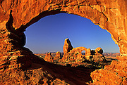 Image of Window Arch at Arches National Park, Utah, American Southwest