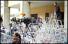 JULY 02 2013 The Press get ready for the Duchess of Cambridges Baby
