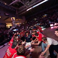 The Kennel Club vs. Southern Utah at McCarthey Athletic Center<br /> <br /> Photo by Rajah Bose