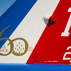 C&eacute;l&eacute;brations du 60&egrave;me anniversaire de la Patrouille de France sur la Base A&eacute;rienne 701 de Salon de Provence. D&eacute;monstrations et pr&eacute;sentations des savoirs-faire de l'Arm&eacute;e de l'Air.<br /> Mai 2013 / Salon de Provence / Bouches du Rh&ocirc;ne(13) / FRANCE