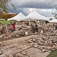 "Festival of Stone 2012 - A two-day dry stone walling festival organized by ""Dry Stone Walling Across Canada"""