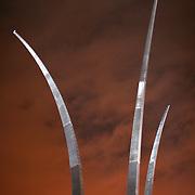 Arlington, Va., Sept. 11, 2008 - The United States Air Force Memorial in Arlington, Va., on Thursday, Sept. 11, 2008.