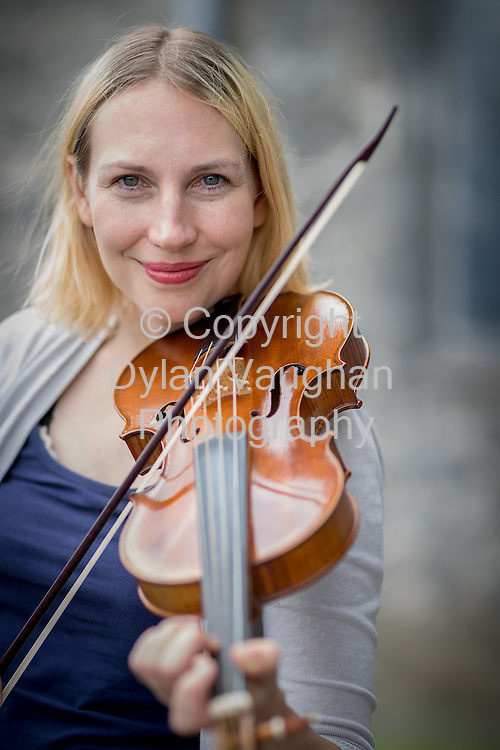 12-8-16<br />  <br /> <br /> Marja Gaynor, a violinist from Finland who came to Ireland in 2000 pictured at St Canice's Cathedral in Kilkenny.<br /> Picture Dylan Vaughan