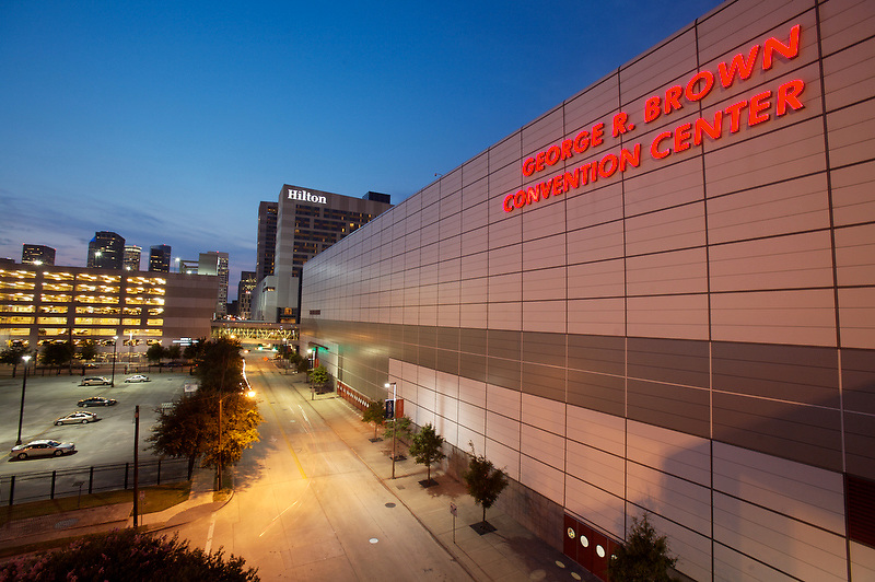 george r brown convention center in downtown houston. Black Bedroom Furniture Sets. Home Design Ideas