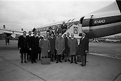 1966 - Netherlands Trade Mission departing for Amsterdam from Dublin Airport