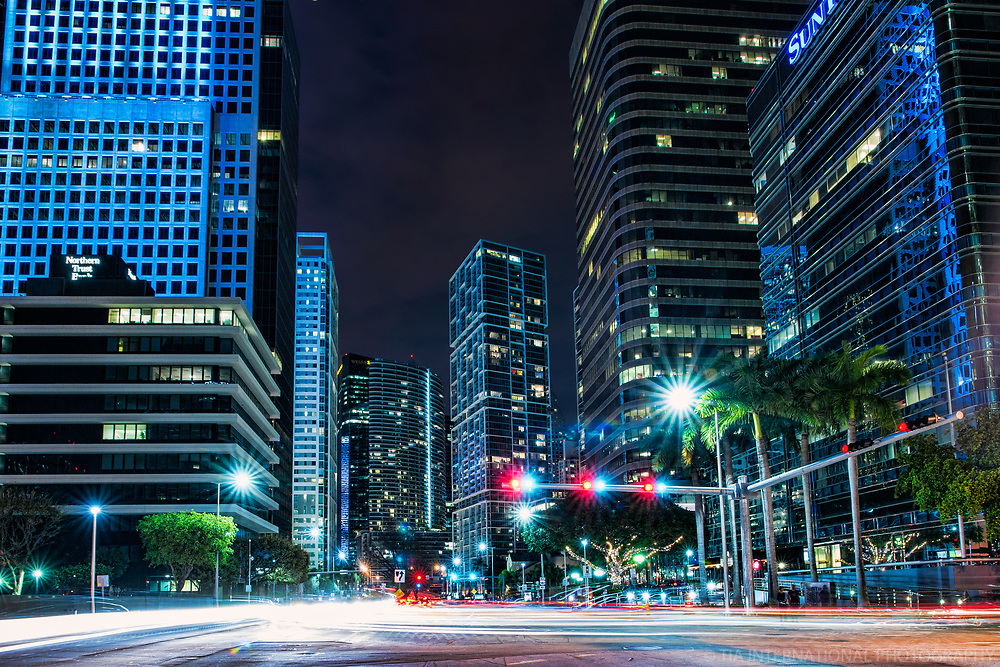 Biscayne Boulevard through Brickell