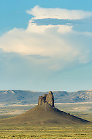 """The """"Boar's Tusk"""" in the Red Desert of Wyoming"""