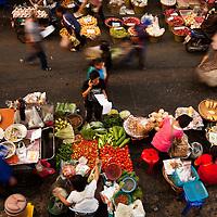 view of Myung Mai market, Chiang Mai, Thailand