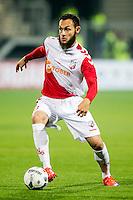 ROTTERDAM - SBV Excelsior - FC Utrecht , Voetbal , Eredivisie, Seizoen 2015/2016 , Stadion Woudestein , 03-10-2015 , FC Utrecht speler Nacer Barazite