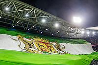 ROTTERDAM - Feyenoord - Ajax , Voetbal , KNVB Beker , Seizoen 2015/2016 , Stadion de Kuip , 25-10-2015 , Sfeeractie voor de wedstrijd