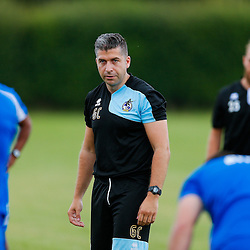 New Physio looks on as Bristol Rovers return to training ahead of their 2015/16 Sky Bet League Two campaign - Photo mandatory by-line: Rogan Thomson/JMP - 07966 386802 - 02/07/2015 - SPORT - Football - Bristol, England - The Lawns Training Ground, Henbury - Sky Bet League Two.