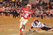 Lafayette High's D.K. Buford (2) vs. New Albany in Oxford, Miss. on Friday, October 14, 2011. ..