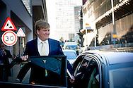 ROTTERDAM - Koning Willem-Alexander tijdens het symposium Global Minds tijdens de viering van het vierhonderdjarig bestaan van Koninklijke Vopak N.V.. ANP ROYAL IMAGES ROBIN UTRECHT