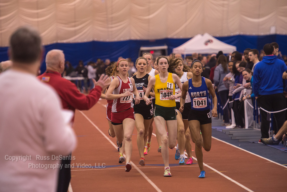 Indoor track state championships were held at The Bennett Center in Toms River. / Russ DeSantis Photography and Video, LLC