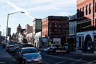 Butte, Montana, Broadway Street, uptown